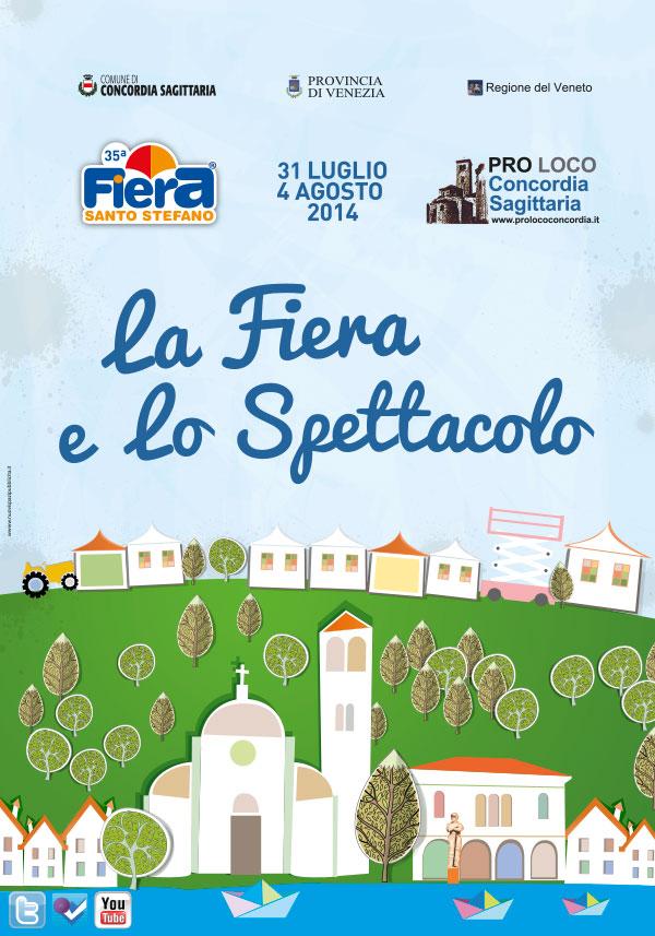 Fiera Santo Stefano 2014 - Locandina